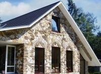 Монтаж фасадов, облицовка зданий кирпичом и камнем в Копейске