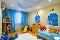 Отделка детской комнаты в Копейске