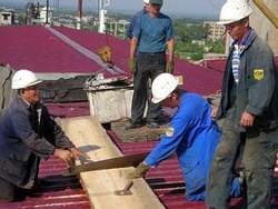 Ремонт крыш в Копейске. Ремонт и обслуживание кровли